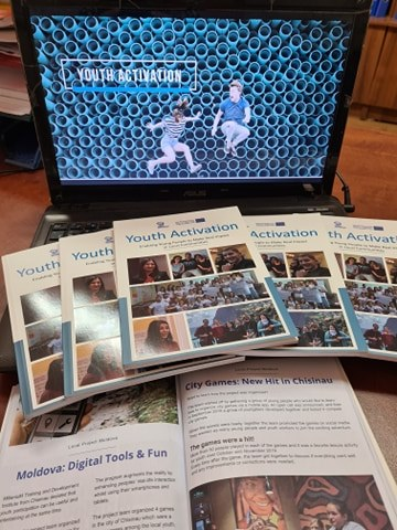 "Handbooks of the ""Youth Activation"" project"